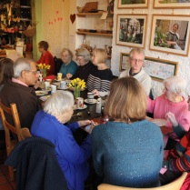 Older people's tea party, Feb 2014