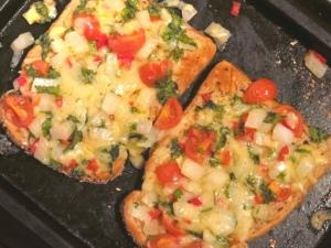 Chilli cheese on toast